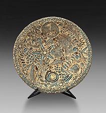 Ocean Bowl by Valerie Seaberg (Ceramic Bowl)