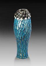 Reshi Pearl Vessel by Valerie Seaberg (Ceramic Vessel)