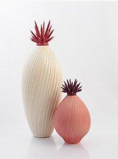 Berry Crush Sculptural Vessels by Natalie Blake (Ceramic Vessel)