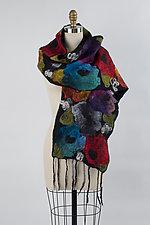 Eileen Scarf by Elizabeth Rubidge  (Silk & Wool Scarf)