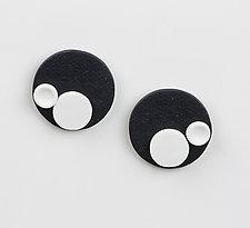 Amy Earrings by Klara Borbas (Polymer Clay Earrings)