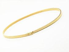 Rivet Bangle by Ayesha Mayadas (Gold Bracelet)