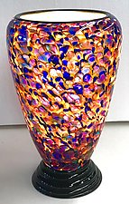 Blown Glass Lamp II by Curt Brock (Art Glass Table Lamp)