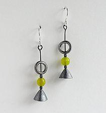 #890 Earrings by Boo Poulin (Silver & Stone Earrings)