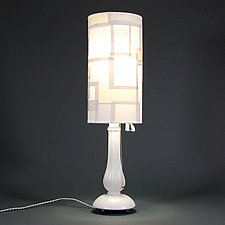 On The Tundra by James Aarons (Mixed-Media Table Lamp)