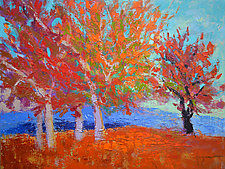 Red Oak by Dorothy Fagan (Oil Painting)