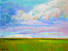 April Morning by Dorothy Fagan (Oil Painting)
