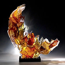 Affinity by Caleb Nichols (Art Glass Sculpture)