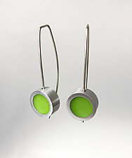 Small Dot Earrings by Melissa Stiles (Resin Earrings)