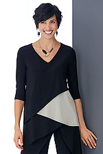 Matrix Layer Top by Sympli  (Knit Top)