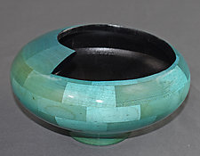 Spiral Bowl by Joel Hunnicutt (Wood Sculpture)