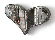 Shot to the Heart by Anthony Hansen (Metal Wall Sculpture)
