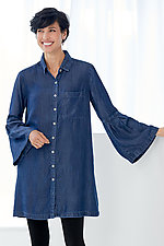 Freddie Tunic by Parker Smith  (Denim Tunic)