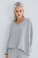 Double Angle V-Tee by Planet   (Knit Top)