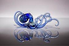 Curious by Bryan Randa (Art Glass Sculpture)