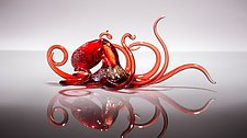 Curious by Bryan Randa (Art Glass Sculpture)
