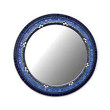 Iris Flower Mirror by Angie Heinrich (Mosaic Mirror)
