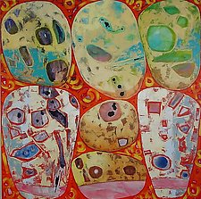 June 19 Jewel Rocks by Chin Yuen (Acrylic Painting)