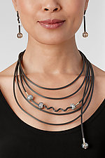 Shades of Gray Jewelry by Dagmara Costello (Rubber & Stone Jewelry)