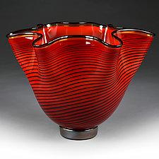 Vivid Venetian Studio Sample by Eric Bladholm (Art Glass Vase)