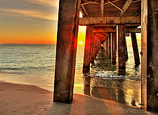 Sunset Persective by Melinda Moore (Color Photograph)