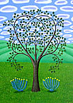 The Heart Tree by Jane Troup (Giclée Print)