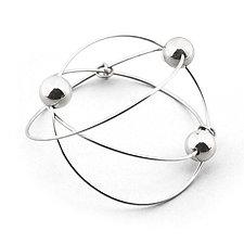 Orbit Bracelet by Elizabeth Earle (Silver Bracelet)