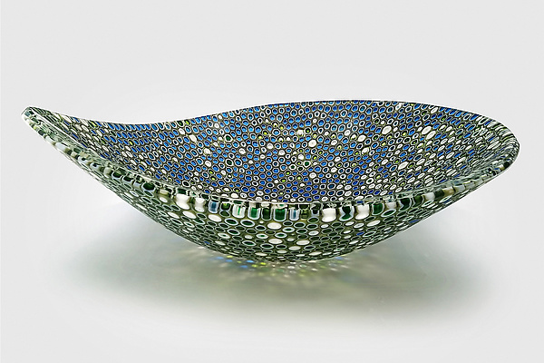 Nido 22 Forest Floor and Lapis Lazuli Bowl
