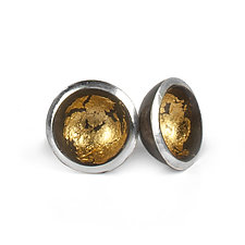 Acacia Studs by Emily  Hunziker Phillips (Gold & Silver Earrings)