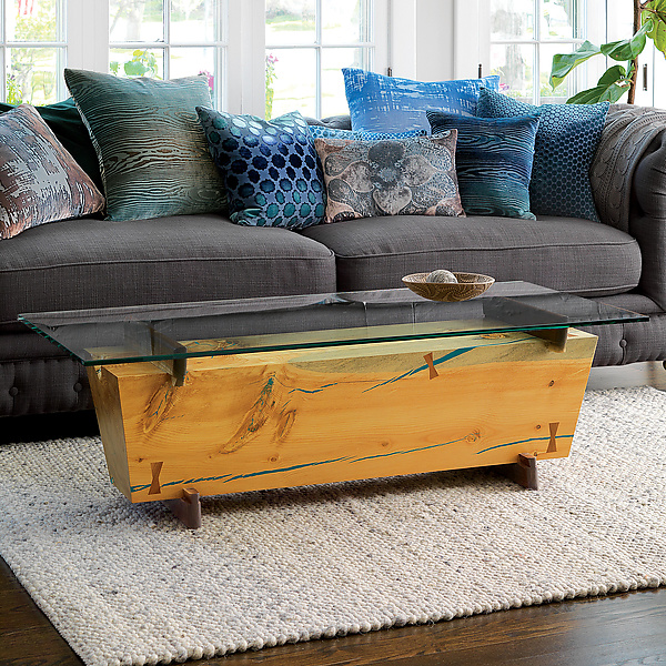 Rh French Beam Coffee Table: Beam Coffee Table By Craig Demmon (Wood Coffee Table