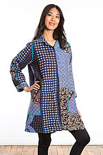 A-Line Duster #3 by Mieko Mintz  (One Size (2-14), Cotton Coat)