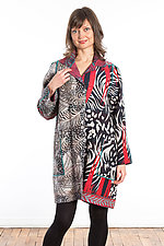 A-Line Duster #5 by Mieko Mintz  (One Size (2-14), Cotton Coat)