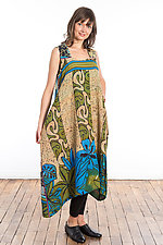 Tent Dress #4 by Mieko Mintz  (One Size (2-14), Cotton Dress)
