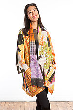 A-Line Jacket #3 by Mieko Mintz  (Size 1 (8-14), Cotton Jacket)