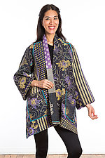 A-Line Jacket #4 by Mieko Mintz  (Size 1 (8-14), Cotton Jacket)