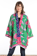 A-Line Jacket #8 by Mieko Mintz  (Size 1 (8-14), Cotton Jacket)
