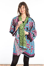 A-Line Jacket #9 by Mieko Mintz  (Size 1 (8-14), Cotton Jacket)