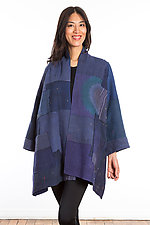 A-Line Jacket #15 by Mieko Mintz  (Size 1 (8-14), Cotton Jacket)