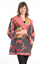 Back Tuck Jacket #2 by Mieko Mintz  (One Size (0-8), Cotton Jacket)