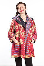 Back Tuck Jacket #4 by Mieko Mintz  (One Size (0-8), Cotton Jacket)