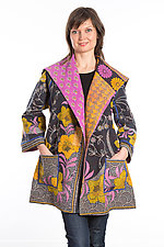 Back Tuck Jacket #5 by Mieko Mintz  (One Size (0-8), Cotton Jacket)