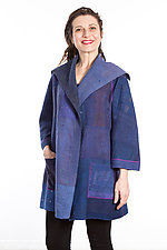 Back Tuck Jacket #6 by Mieko Mintz  (One Size (0-8), Cotton Jacket)