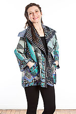 Flare Jacket #2 by Mieko Mintz  (One Size (2-14), Cotton Jacket)