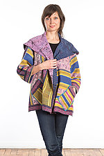 Flare Jacket #3 by Mieko Mintz  (One Size (2-14), Cotton Jacket)