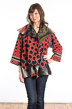 Flare Jacket #6 by Mieko Mintz  (One Size (2-14), Cotton Jacket)