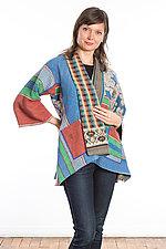 Kimono Jacket #5 by Mieko Mintz  (One Size (2-16), Cotton Jacket)