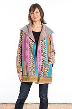 Pocket Jacket #1 by Mieko Mintz  (One Size (2-14), Cotton Jacket)