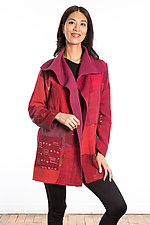 Pocket Jacket #2 by Mieko Mintz  (One Size (2-14), Cotton Jacket)