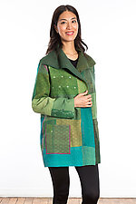 Pocket Jacket #3 by Mieko Mintz  (One Size (2-14), Cotton Jacket)