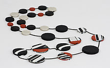 Maya Necklace by Klara Borbas (Polymer Necklace)